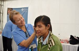 Teri Popp on the Starkey Hearing Mission to Vietnam 2009
