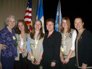 Teri Popp Girl Scouts Troop Leader