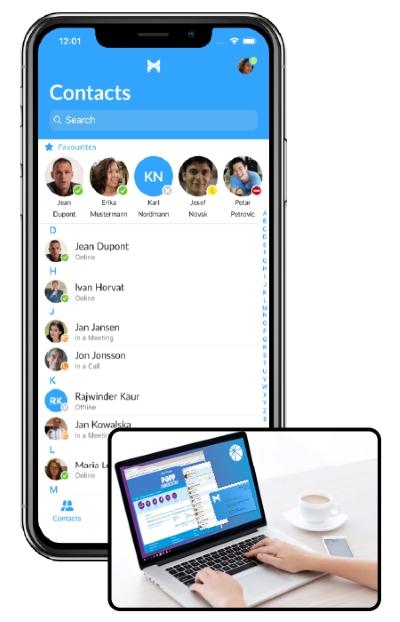 Accession Communicator Mobile App