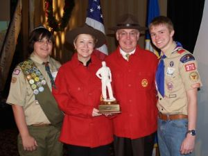 Teri and Bill Popp - Scoutmaster Philanthropy